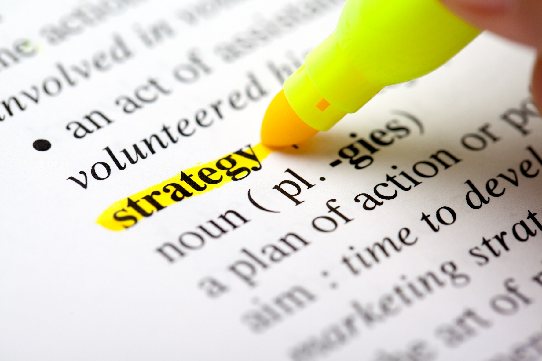define strategic planning We'll focus on three strategic levels – corporate strategy,  we believe that planning for success in the marketplace is  strategy can be difficult to define,.