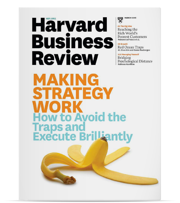 Harvard Business Review | Making Strategy Work