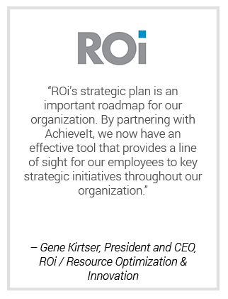 Strategic Planning | ROI Testimonial