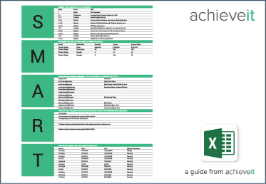 goal setting template excel