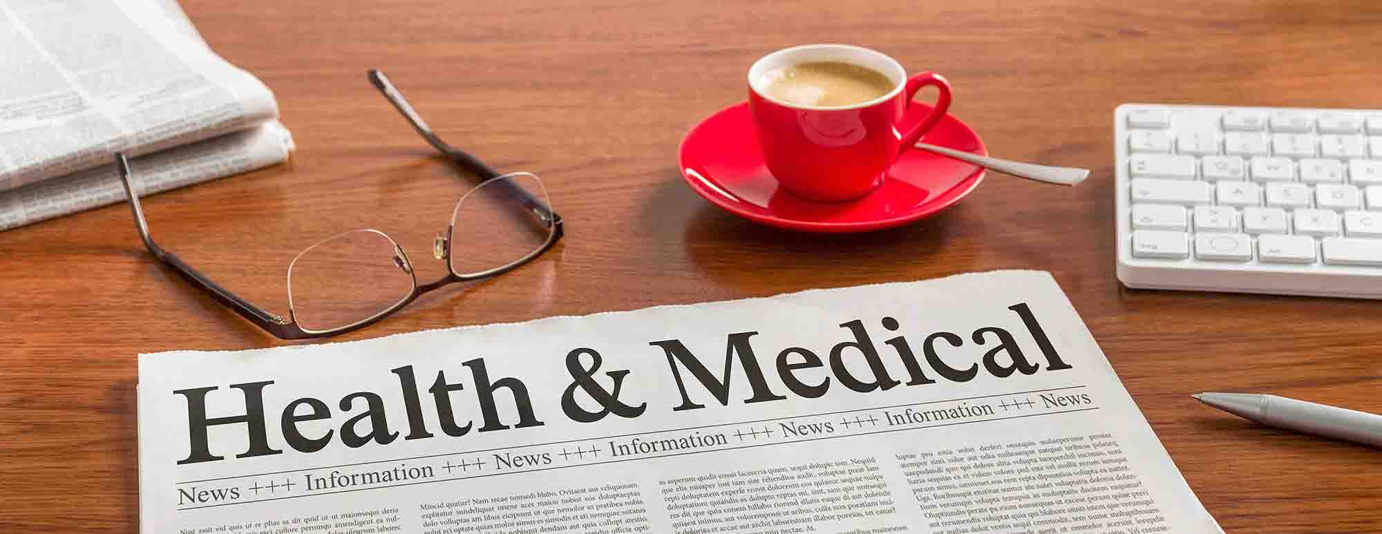 health research newspapers