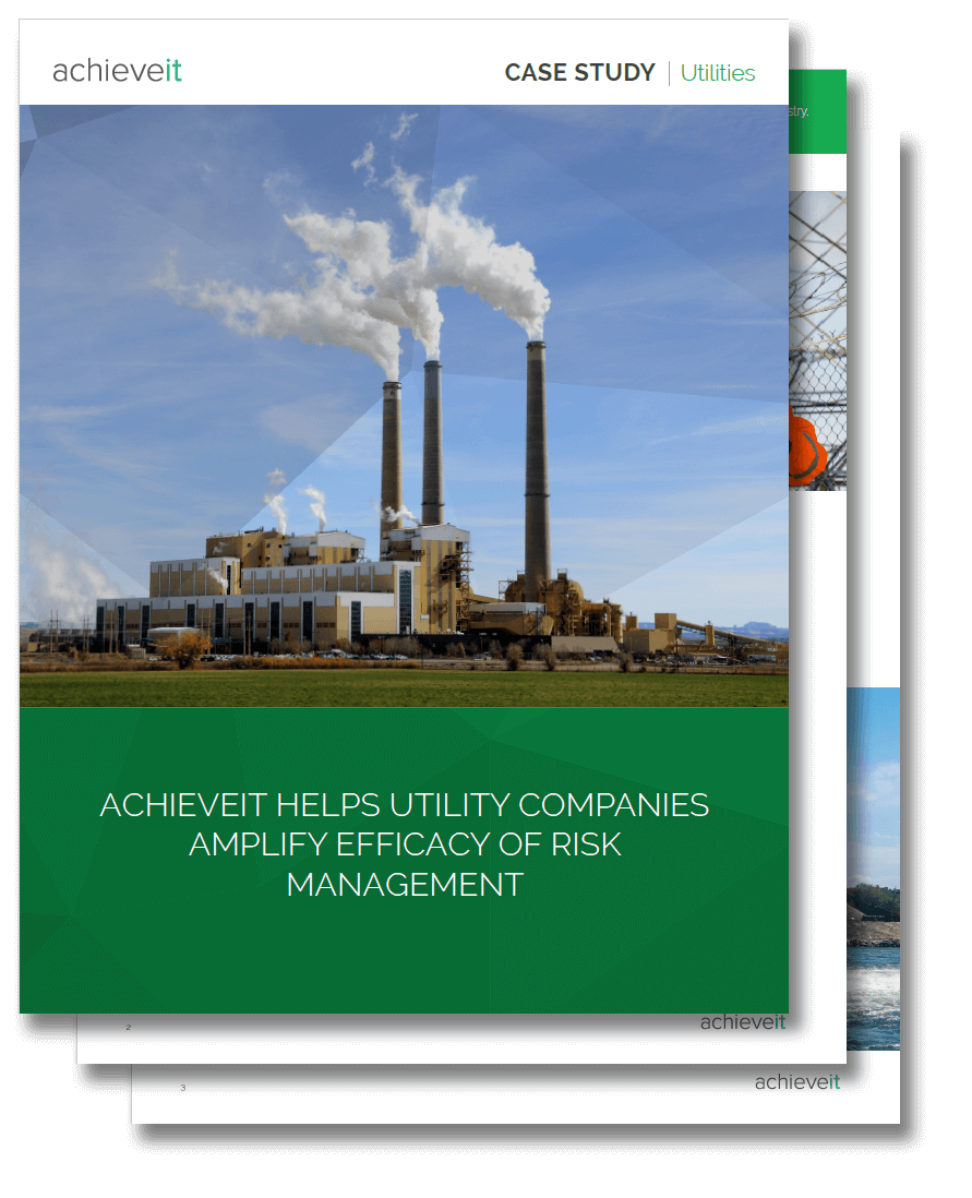 Case Study - AchieveIt Helps Utility Companies Amplify Efficacy of Risk Management