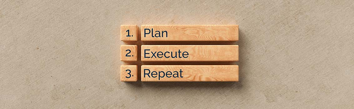 plan execute and repeat strategic success plans