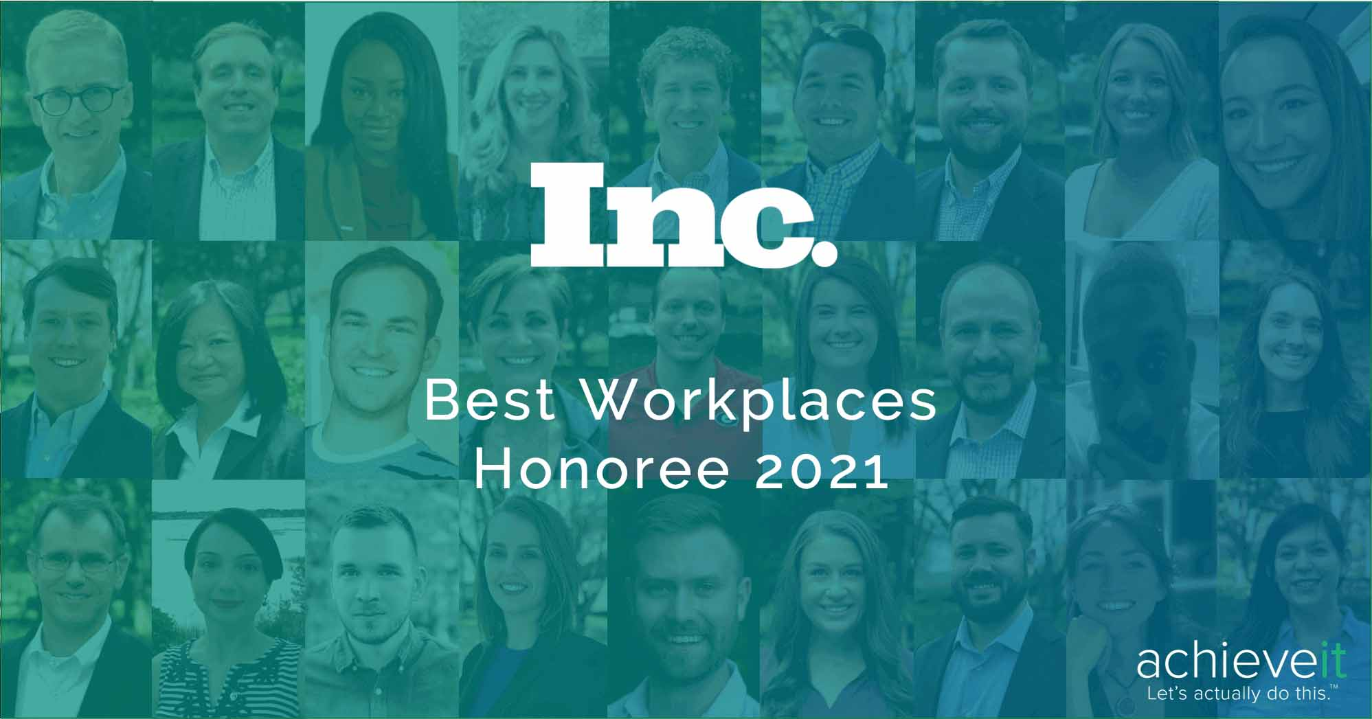 Inc Magazines Best Workplaces Honoree_achieveit