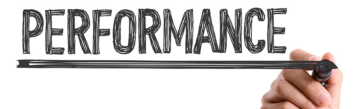 performance written in black marker