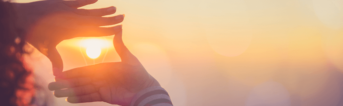 develop strategic focus in your company sun in hands